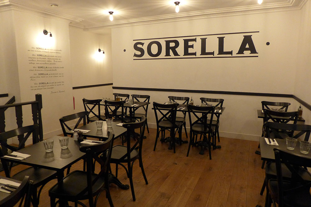 Restaurant Sorella à Paris