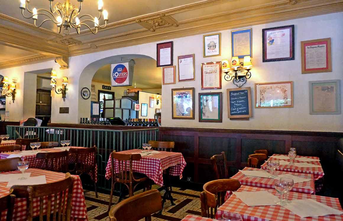 La salle du Restaurant Les Marches