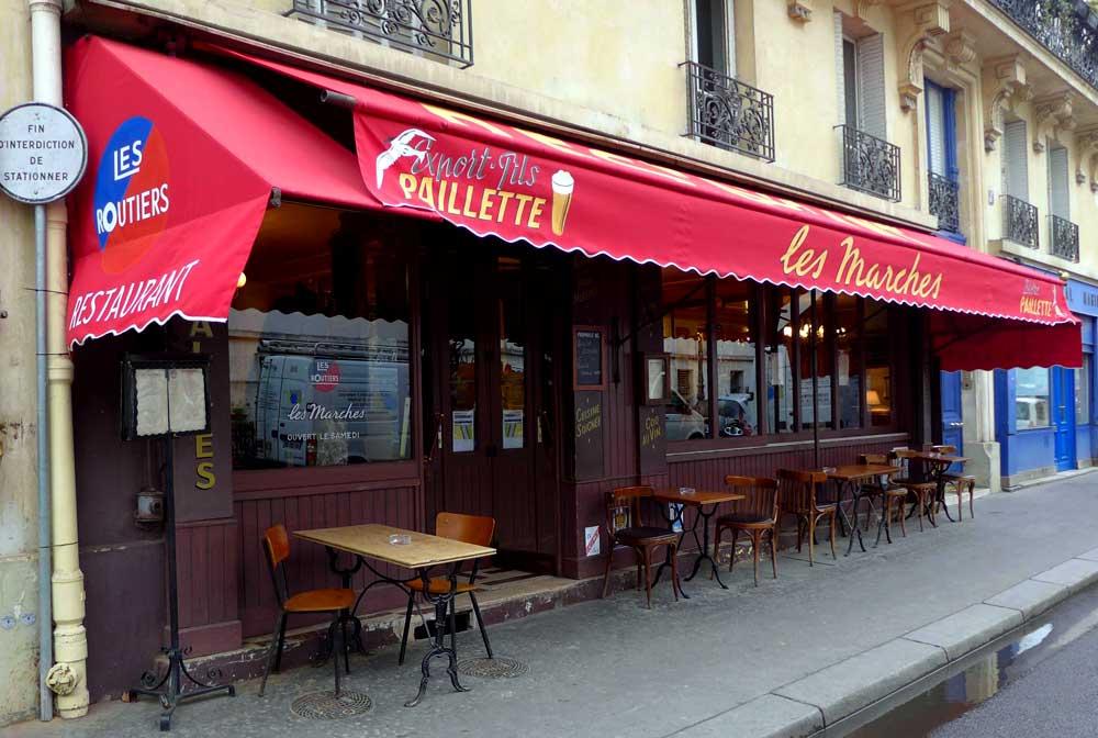 Restaurant Les Marches à Paris 16ème