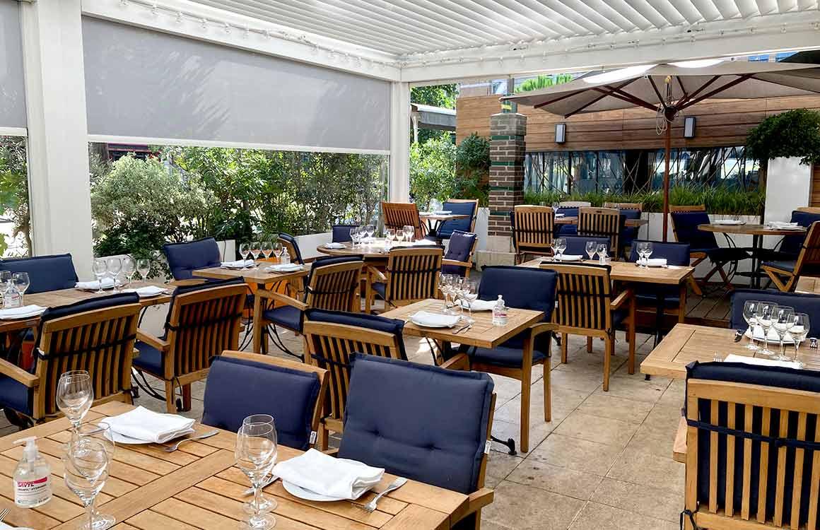 Restaurant La Cagouille terrasse
