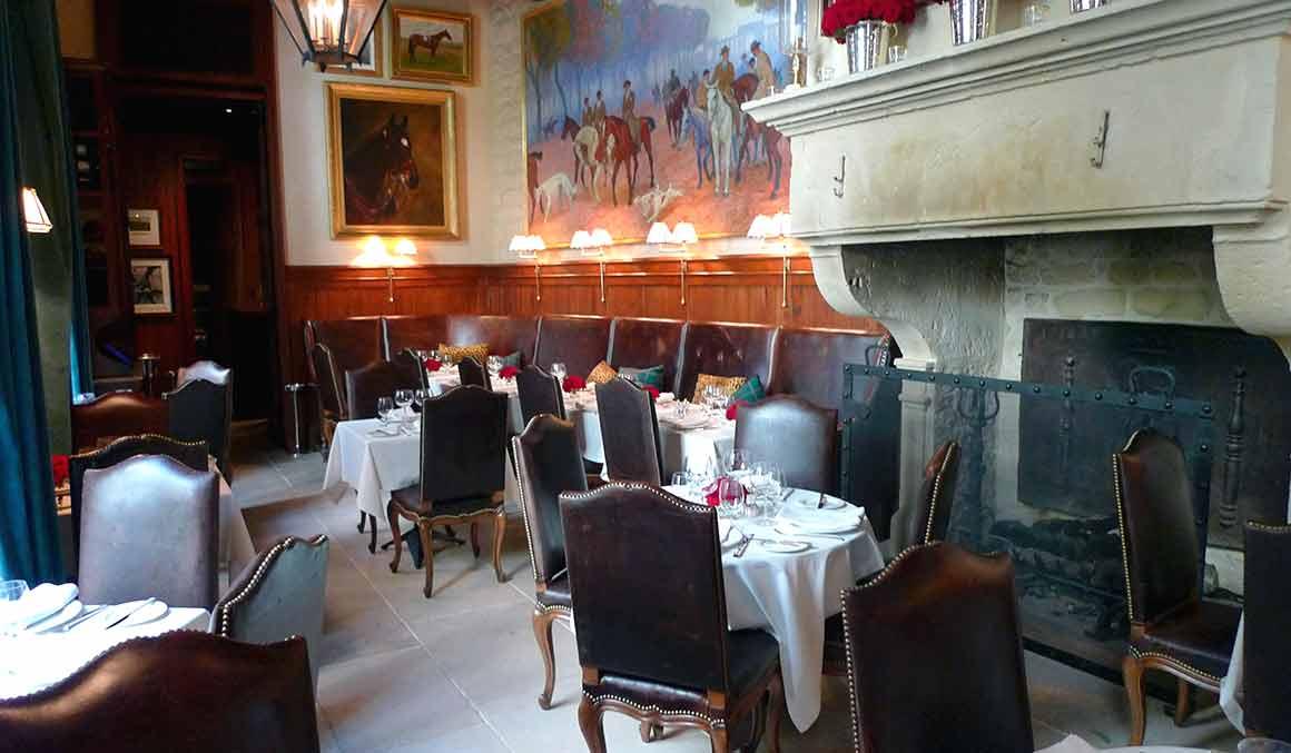L'intérieur du Restaurant Ralph's Ralph Lauren Paris 6ème Saint-Germain-des-Prés