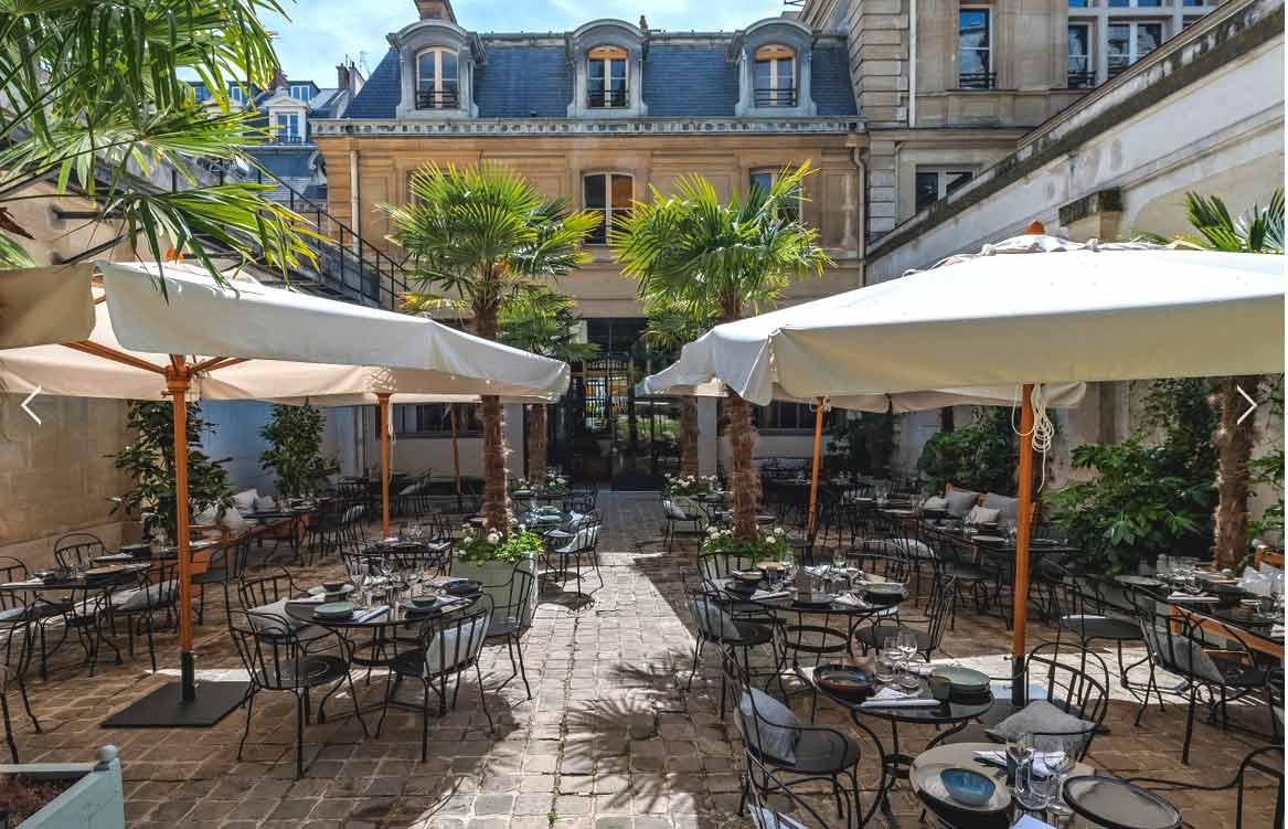 Le Restaurant Le Camondo terrasse à Paris 8ème