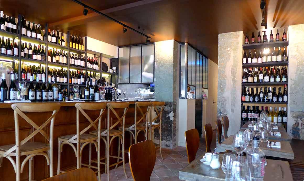La salle du Restaurant Uncino à Paris 9ème