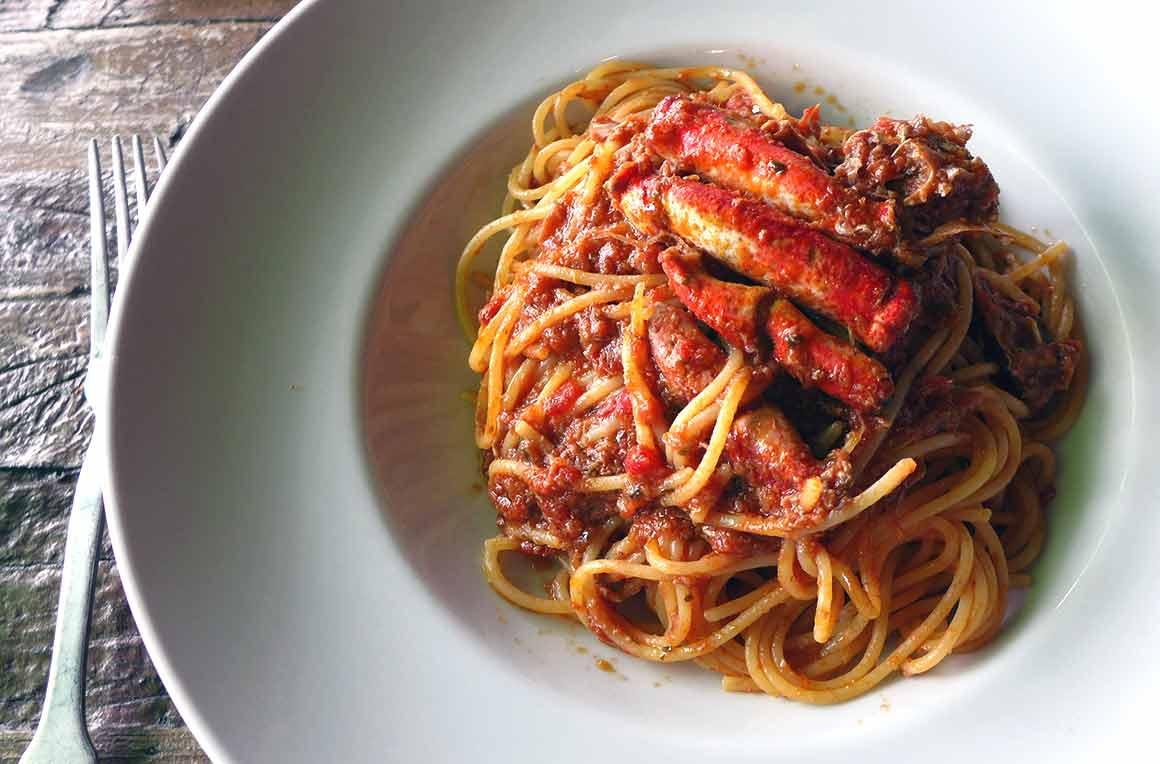 Un plat délicieux du restaurant Uncino
