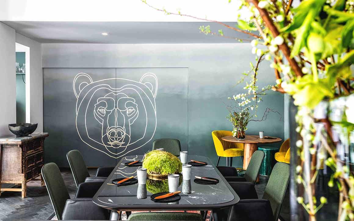 Restaurant L'ours en Île-de-France
