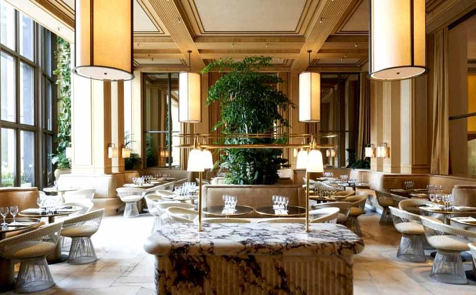 La salle du Restaurant Girafe Paris 16ème