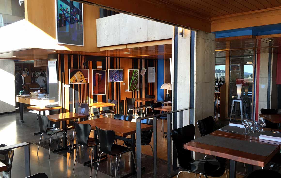 Restaurant Le Ventre De L'architecte Le Corbusieren régions