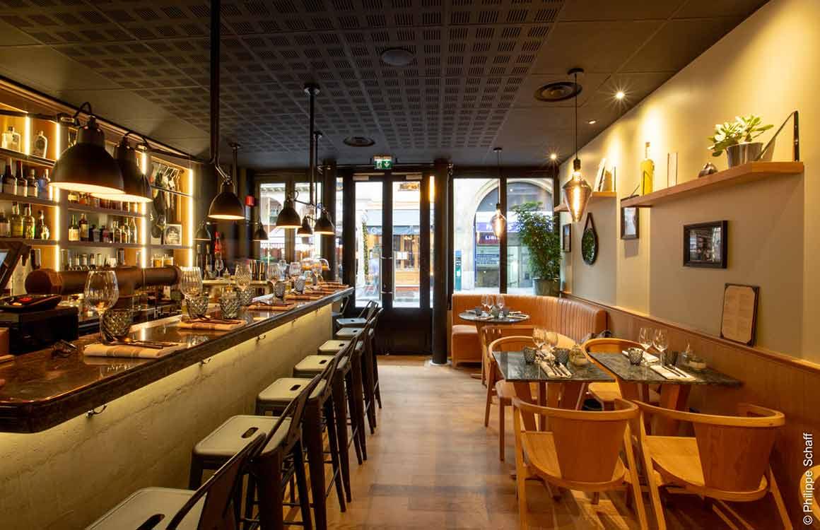 Le Restaurant Le Comptoir des Fables à Paris 7ème