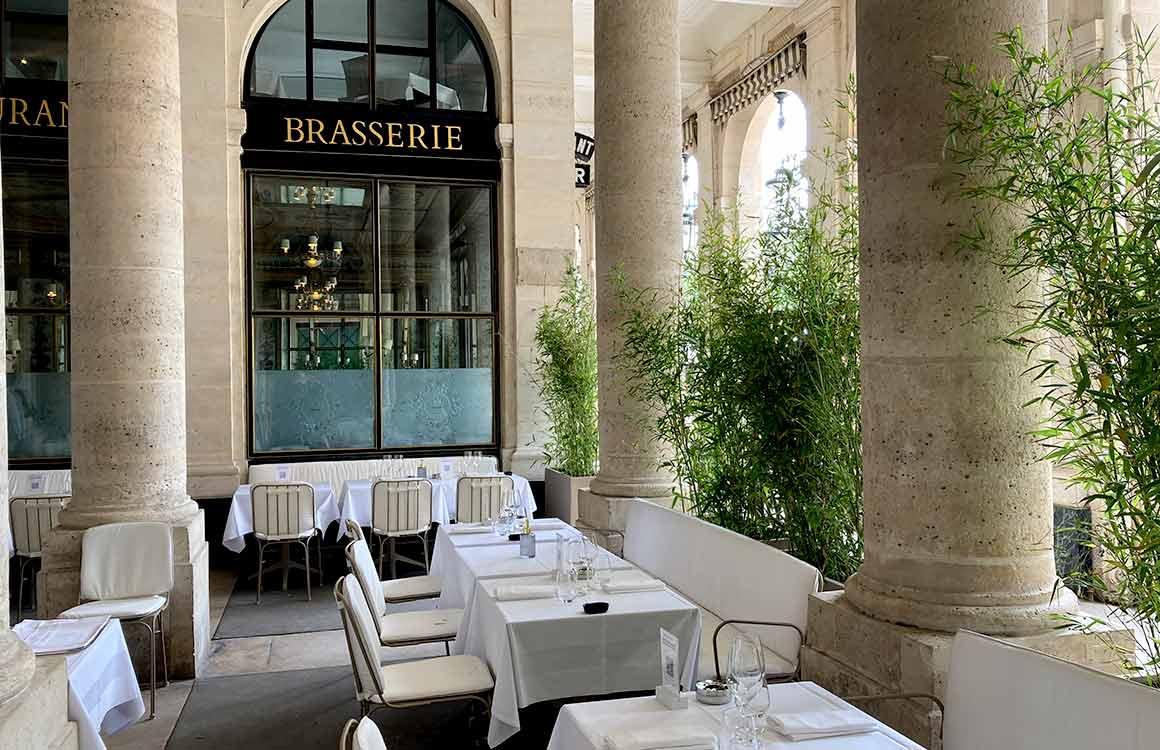 Restaurant Le Grand Véfour terrasse