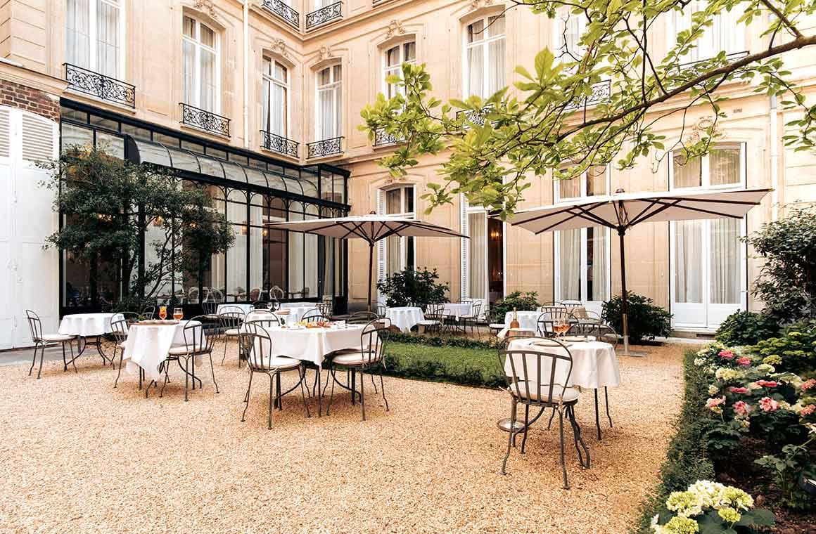 Restaurant Les Caryatides Hotel Alfred Sommier à Paris