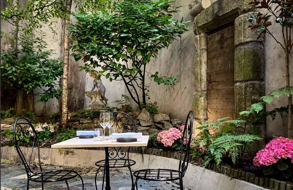 La Table de Colette la terrasse