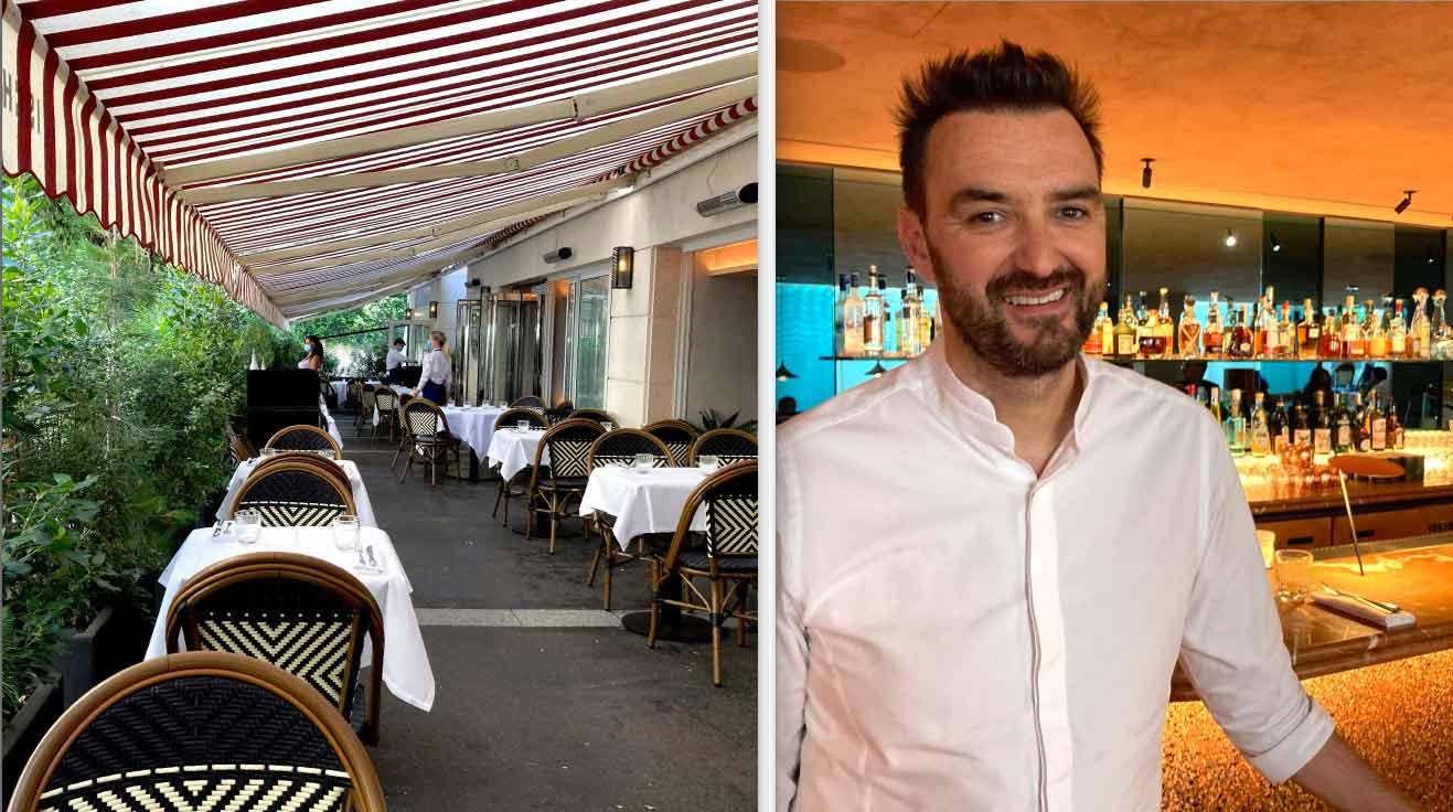 Restaurant Ischia la terrasse et Cyril Lignac