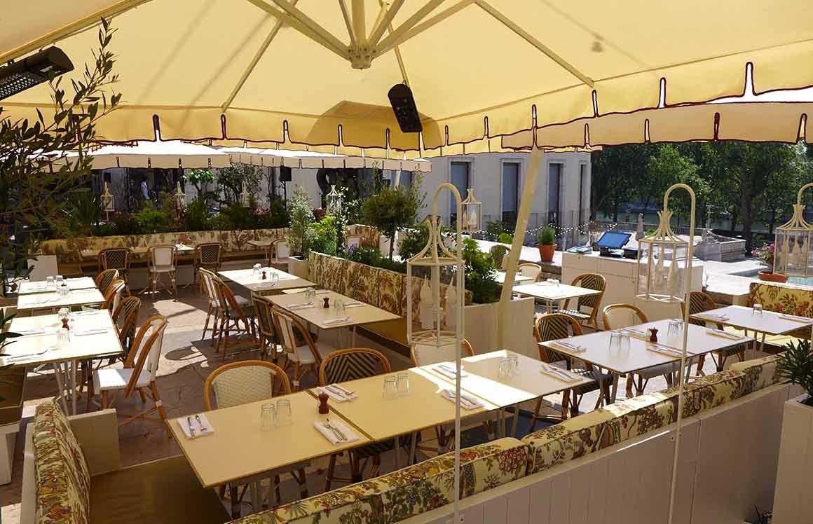 Restaurant Bambini terrasse
