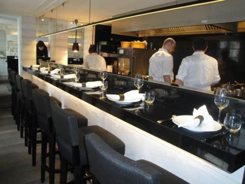Les tables du Restaurant  Le Coq Rico à Paris 18ème