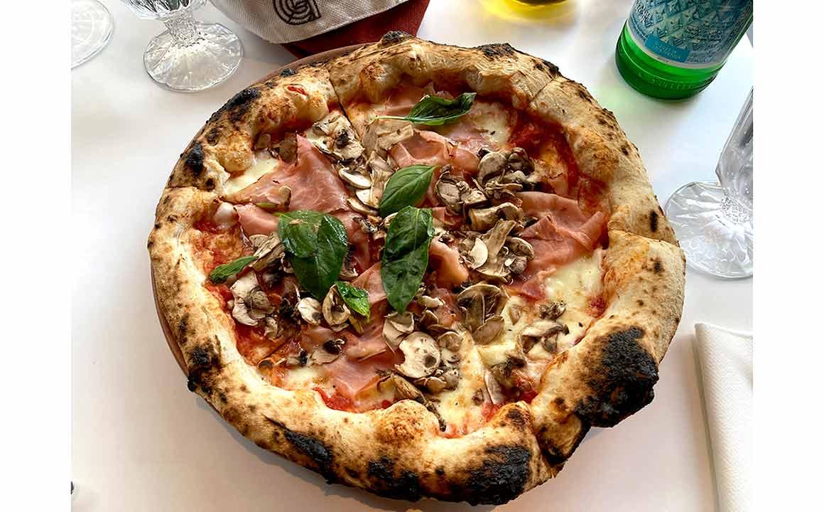 Restaurant Giusé pizza