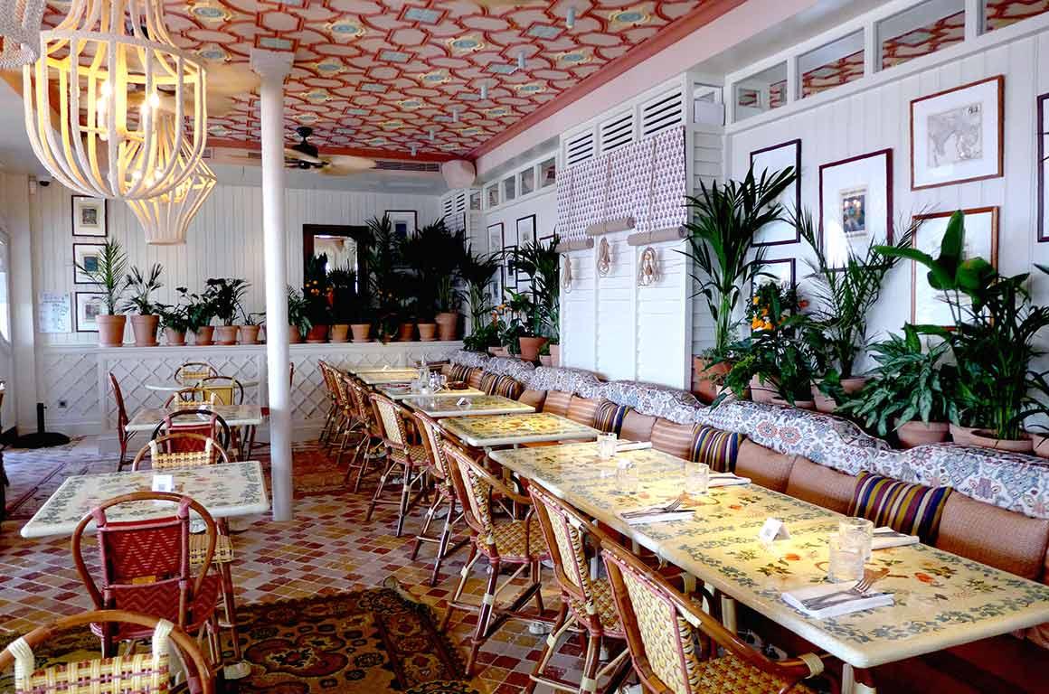 Restaurant Sir Winston une salle