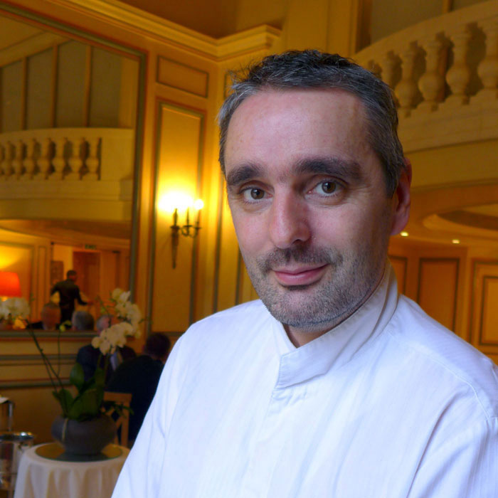 Le chef Thierry Vaissiere