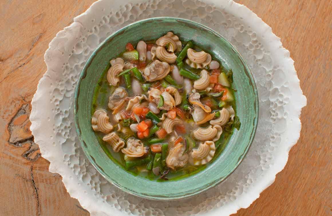 Restaurant Maison Hache soupe au pistou