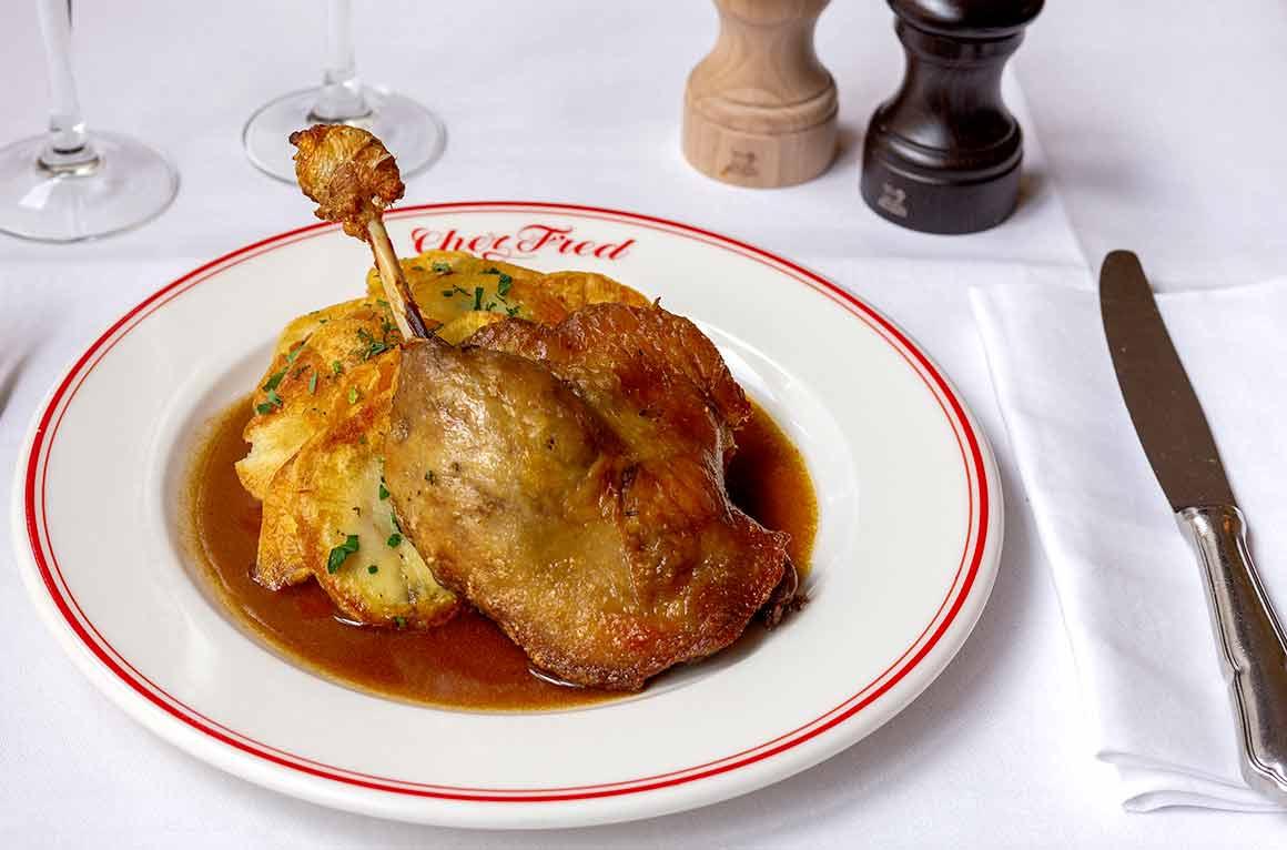 Restaurant Chez Fred poulet rôti