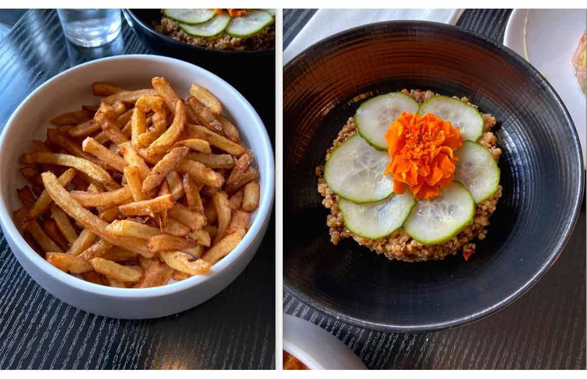 Restaurant Perlimpinpin frites et Unami