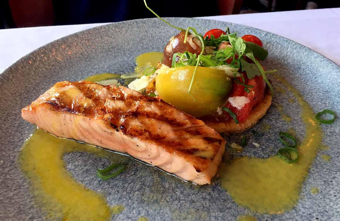 Restaurant La Lorraine coeur de saumon