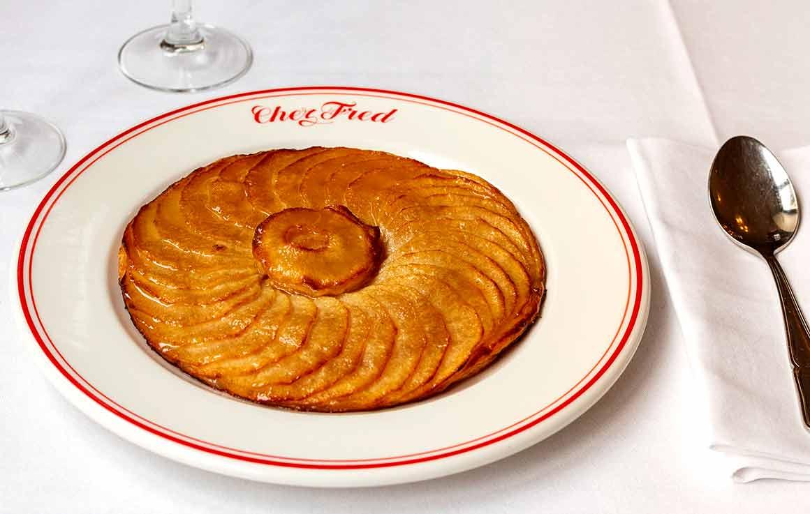 Restaurant Chez Fred tarte aux pommes