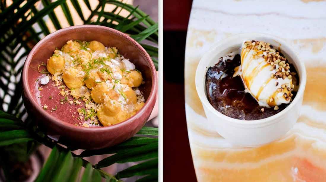 La Brasserie Riviera desserts
