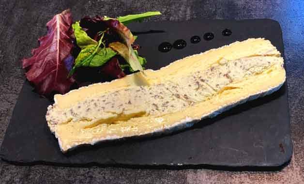 Restaurant Truffes Folies Berri le Brie truffé