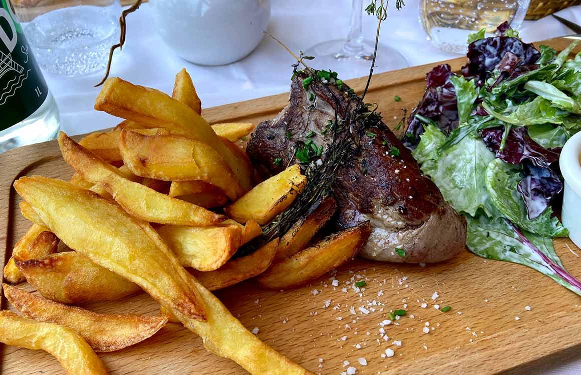 Restaurant La Estancia Bife de lomo