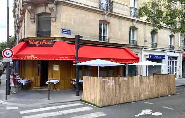 Restaurant Chez Fred les terrasses
