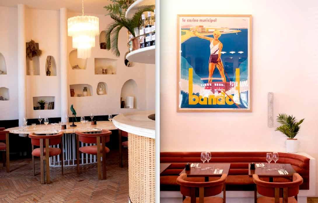 La Brasserie Riviera le décor