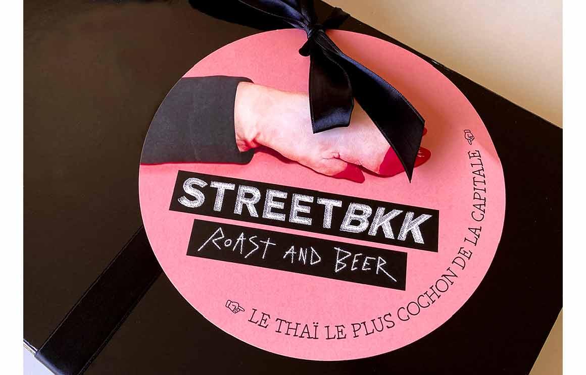 Street BKK Pigalle coffret de livraison