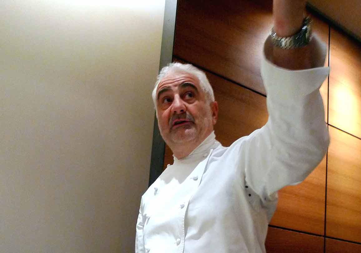 Le chef Guy Savoy