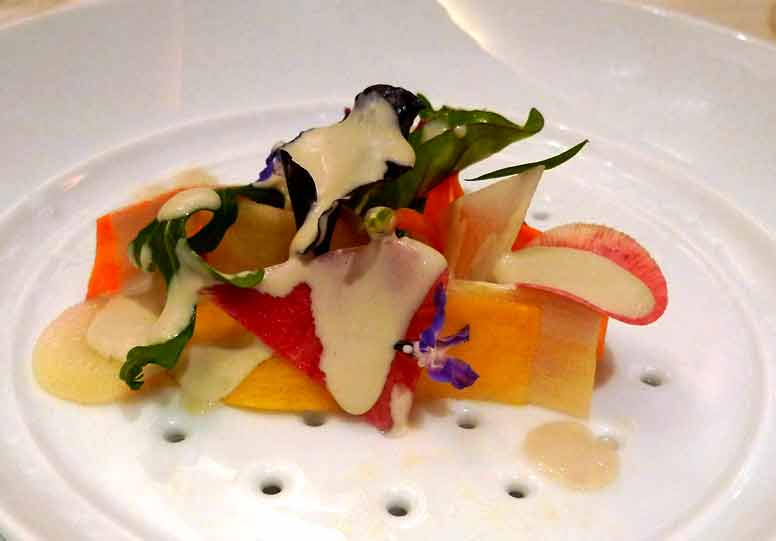 La gastronomie du chef Guy Savoy