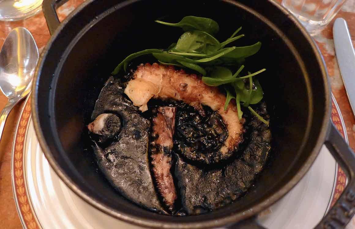 Restaurant A Mi Chemin poulpe