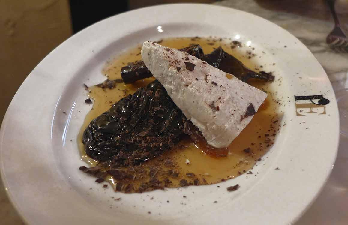 Restaurant L'Enoteca aubergine confite