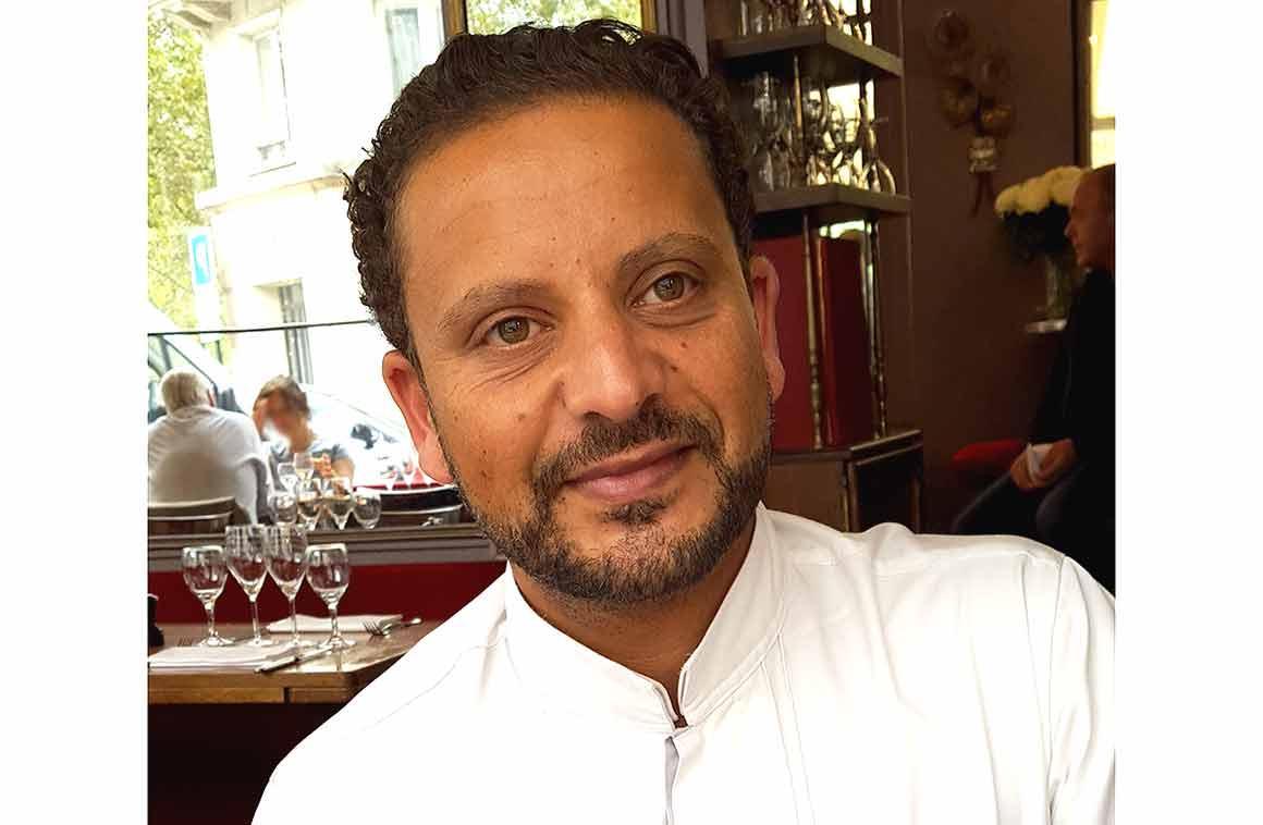 Le chef Helmi Derbal Chez Julien