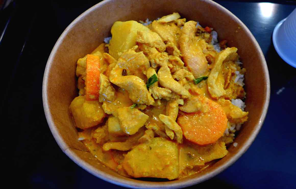 Restaurant Ma cantine Thai poulet