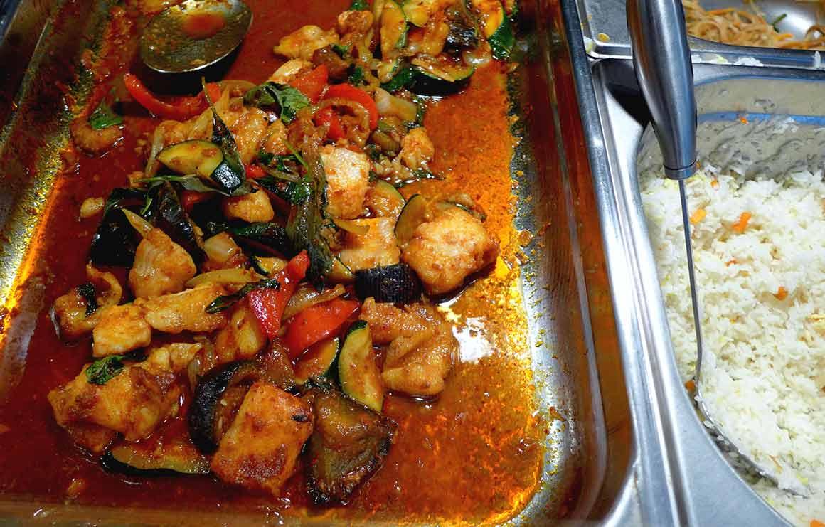 Restaurant Ma cantine Thai légumes