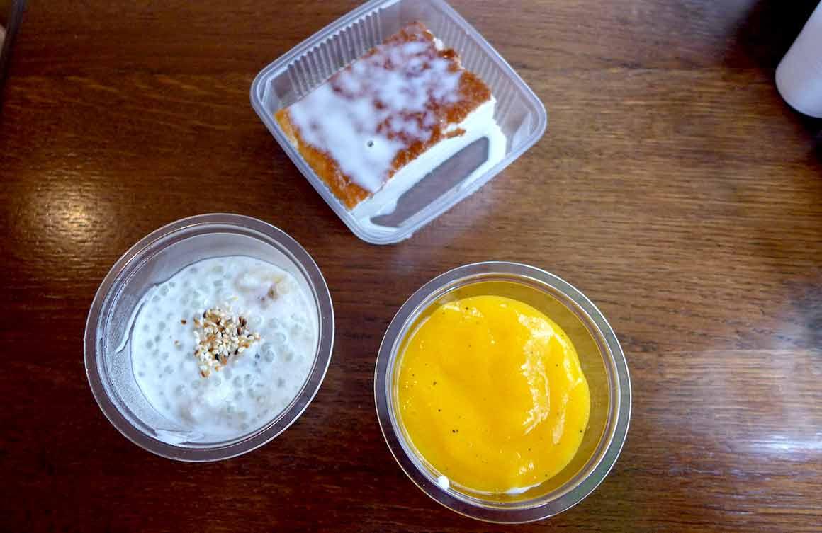 Restaurant Ma Cantine Thai desserts