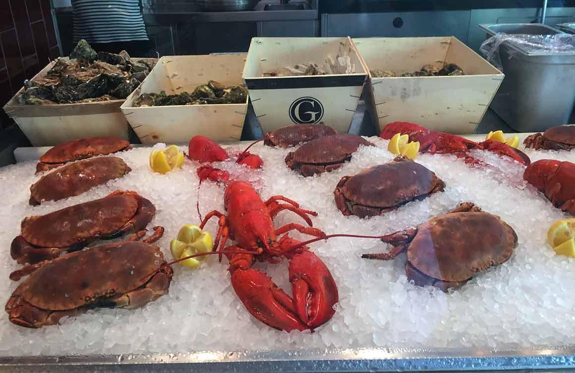 Restaurant La Lorraine huîtres et crustacés
