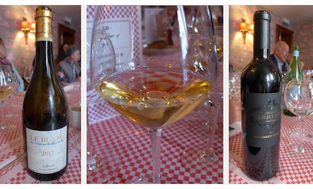 Restaurant La Fontaine de Mars les vins des Domaines Rollan de By