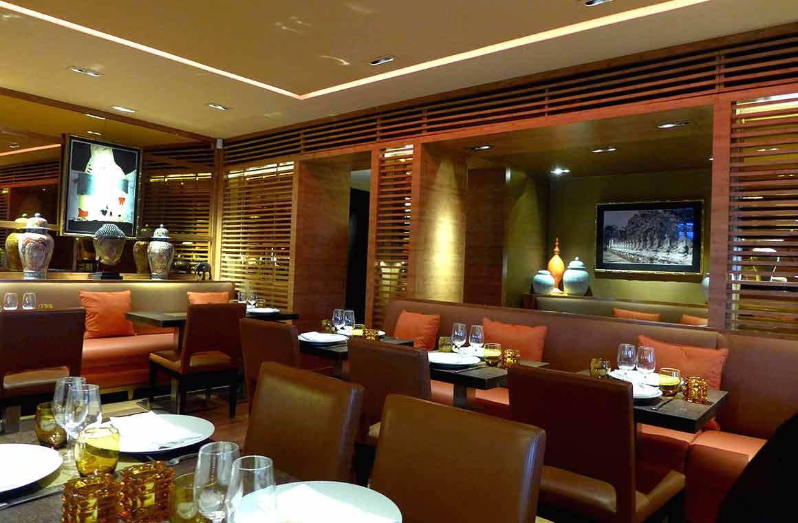 Restaurant Asia Kitchen, la salle