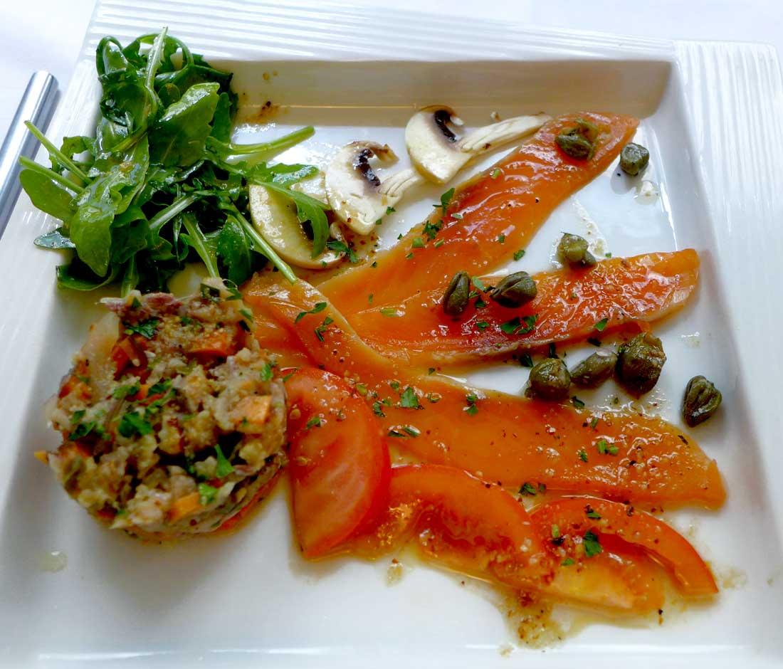 Restaurant Caroll Sinclair saumon