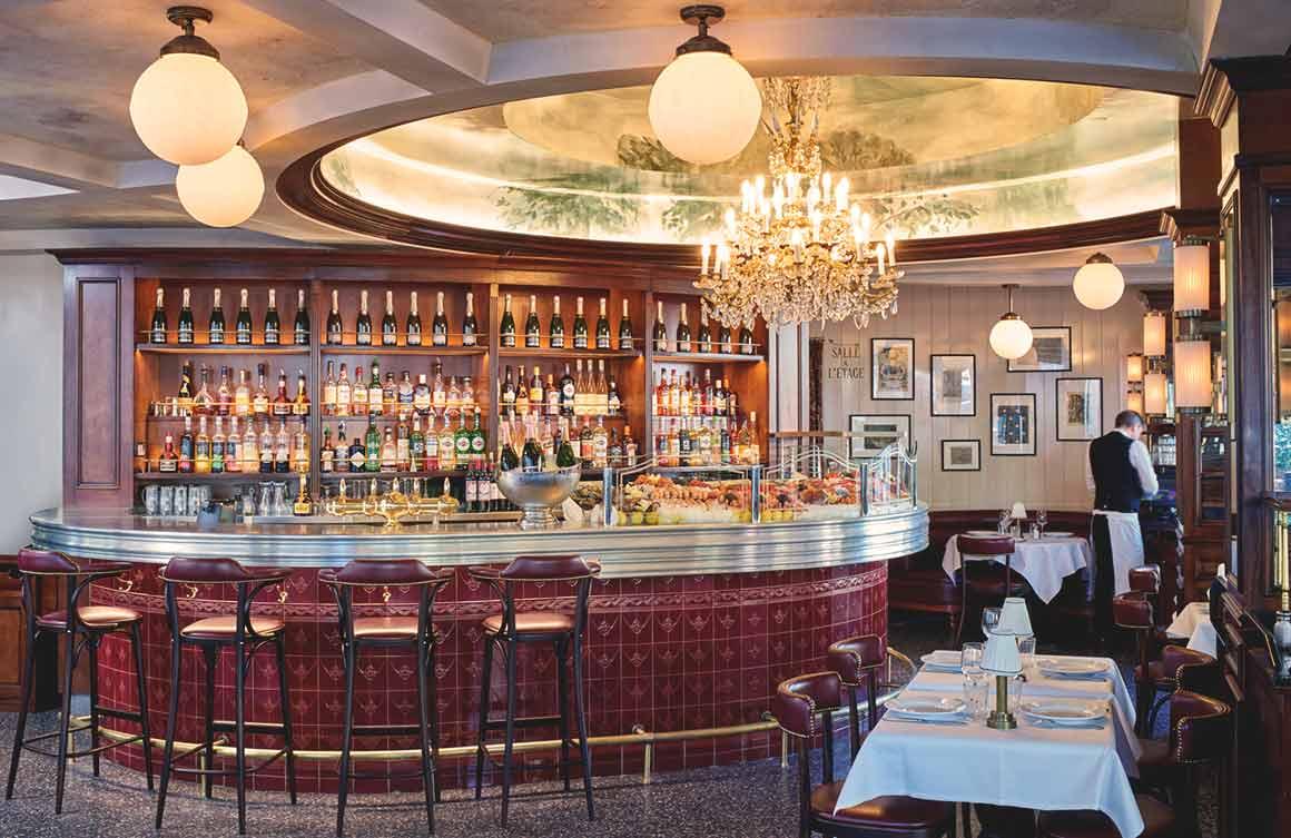 Brasserie l'Alsace, la salle à manger