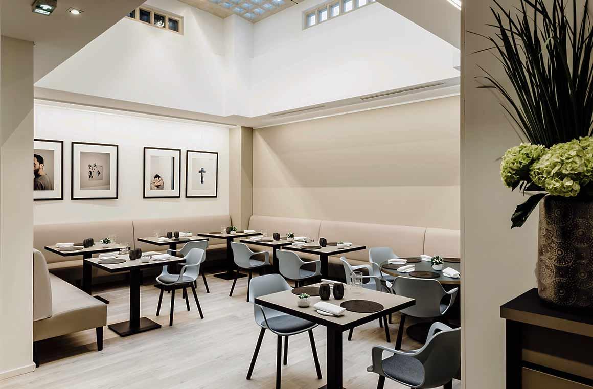 Restaurant La Scène Thélème, La salle
