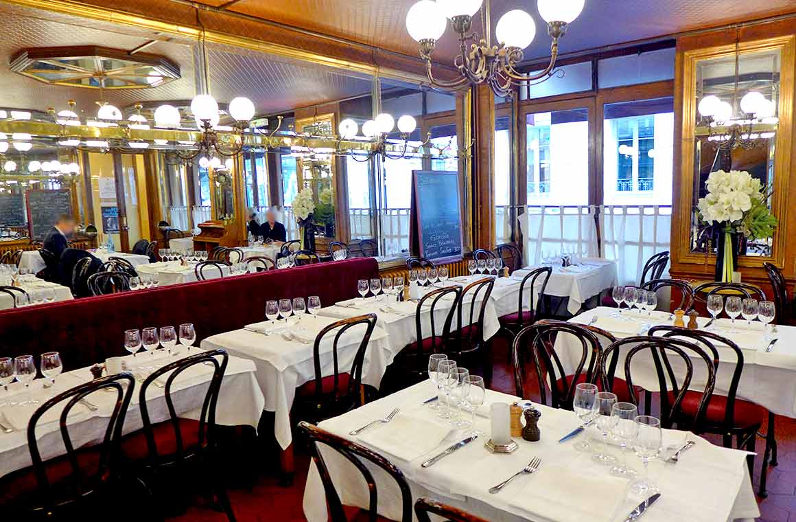 La salle du Bistrot de Paris