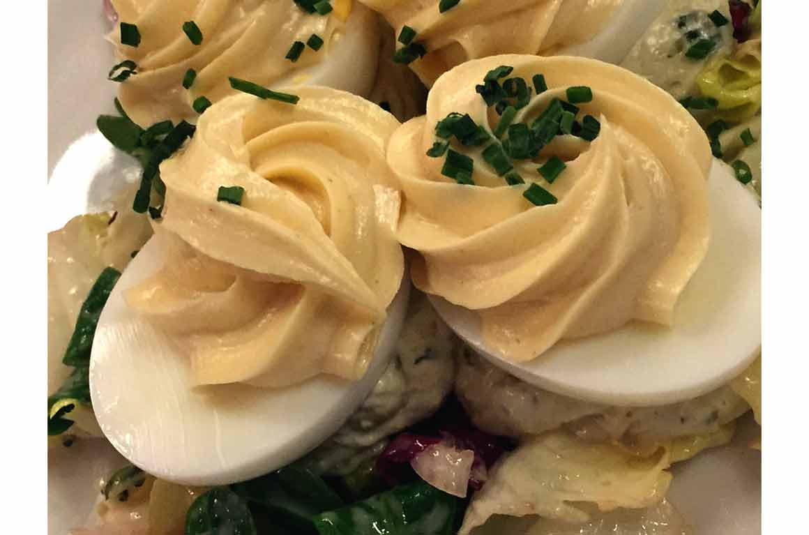 Bistrot de Paris, oeufs mayonnaise
