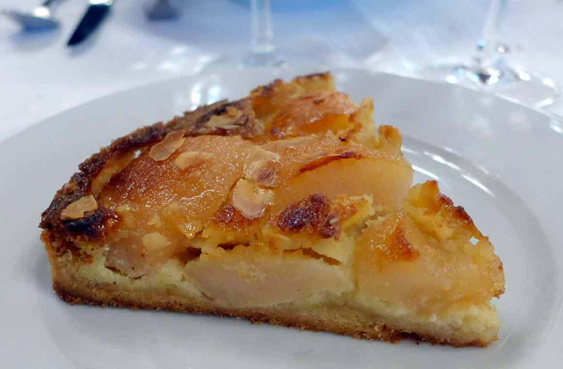 Bistrot de Paris, tarte aux poires