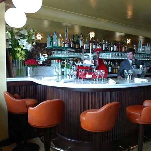 Restaurant Aux Prés, la salle